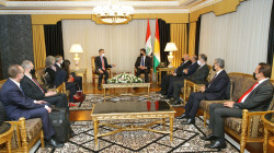 President Barzani meets the U.S. delegation visiting Erbil