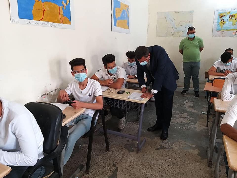 """""""باجراءات وقائية"""".. اكثر من 5000 طالب يعاودون الدوام بمدارس كوردستان في خانقين"""