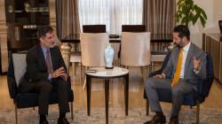 KRG Deputy Prime Minister meets the German Consul General in Erbil
