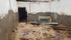 مصرع واصابة 4 اشخاص بانهيار منزل في ديالى