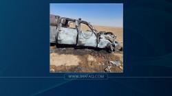 إصابة ضابط رفيع بالجيش ومرافقه بتفجير استهدف عجلة عسكرية قرب الموصل (صور)