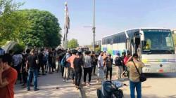 حملة مناصرة فلسطين تصل الأنبار باتجاه الحدود الاردنية