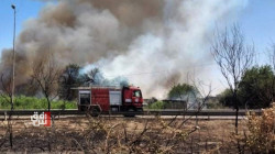 """اندلاع حريق """"كبير"""" في غابات الموصل والدفاع المدني يحصي الخسائر (تحديث)"""