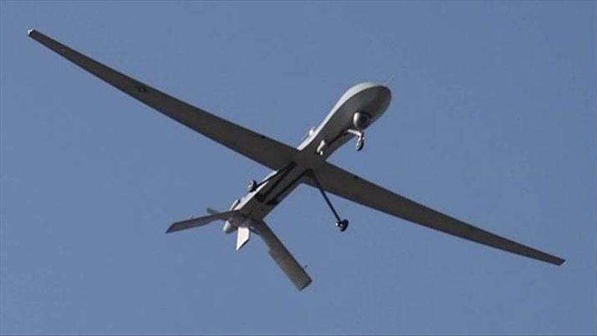 A drone targets a military facility at Baghdad Airport