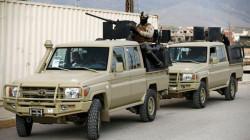 قصف جوي يستهدف عجلة تابعة لفصيل مسلح قرب الحدود العراقية السورية