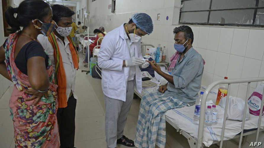 """تسجيل نحو 9 آلاف حالة من """"العفن الأسود"""" في الهند"""
