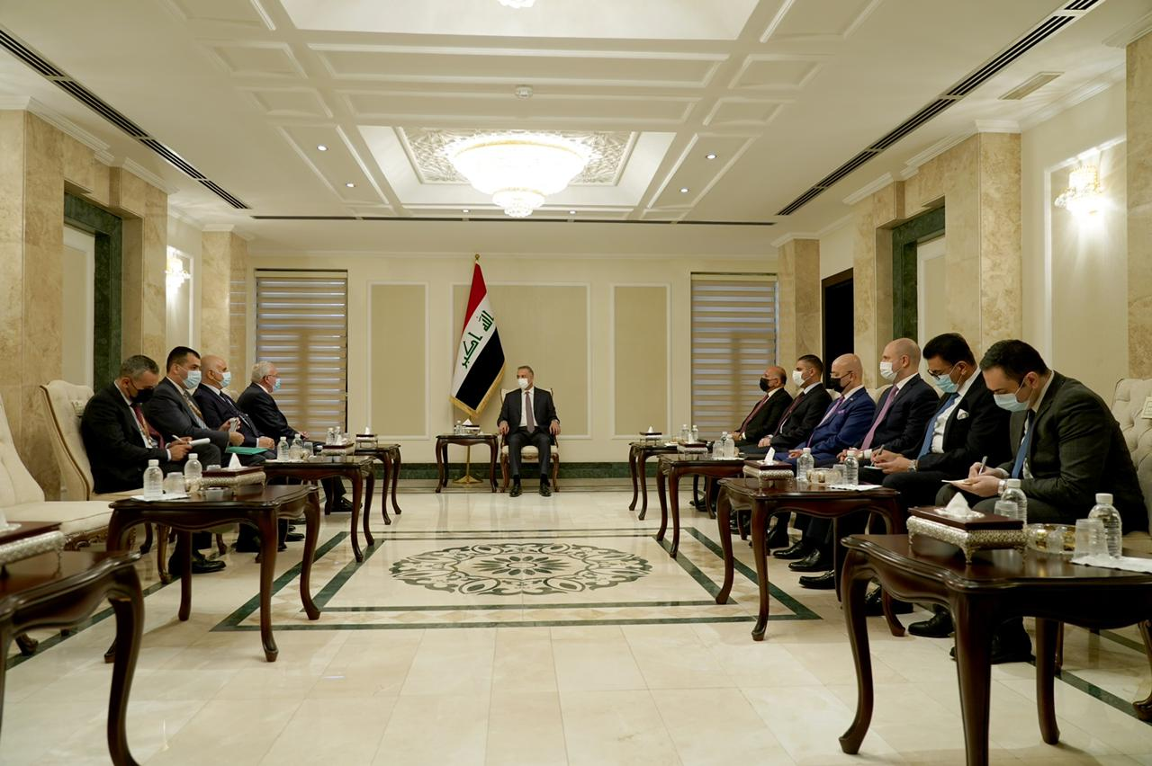 Al-Kazemi Al-Maliki: You will only see from us support and direct support 1621782985939