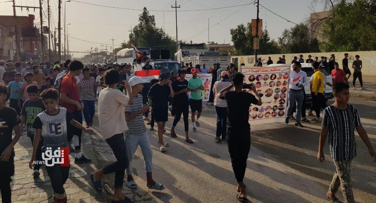 ذي قار.. محتجون يمهلون الحكومة أسبوعاً لتنفيذ مطالبهم