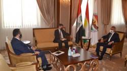 Kurdistan's Vice President hosts Germany's Consul-General in Erbil
