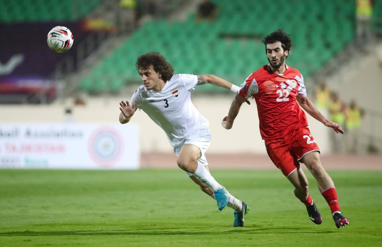 التعادل السلبي ينهي مباراة المنتخب العراقي وضيفه الطاجيكي