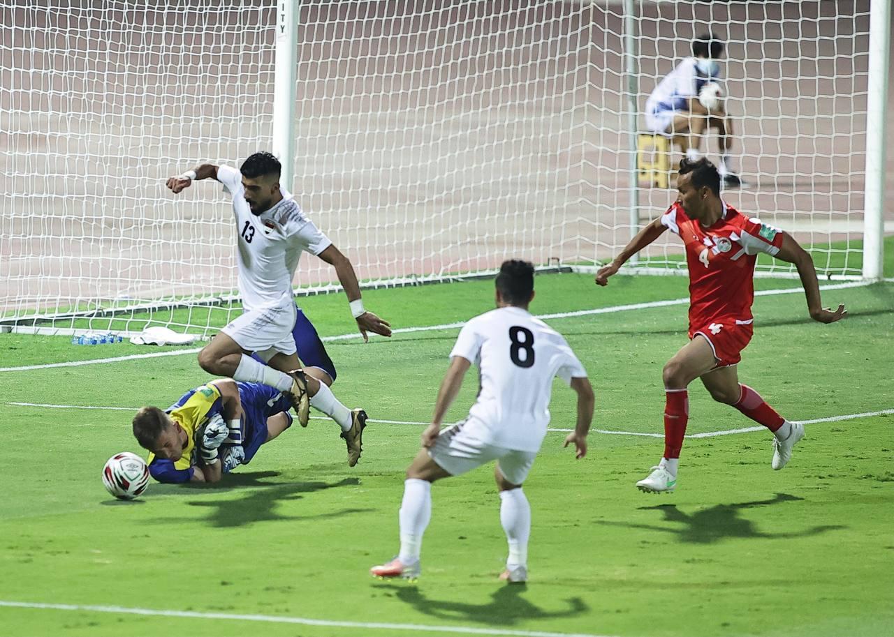 مدرب ولاعبو العراق يعلقون على تعادل طاجكستان السلبي