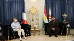 """إقليم كوردستان وفرنسا يؤكدان ضرورة توجيه ضربة """"قاضية"""" لداعش"""