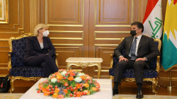 Kurdistan's President appreciates the French role in providing humanitarian, political and military support