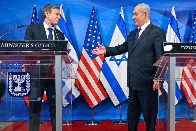 بعد لقائه بلينكن.. نتنياهو يدعو لتوسيع عملية التطبيع مع الدول العربية