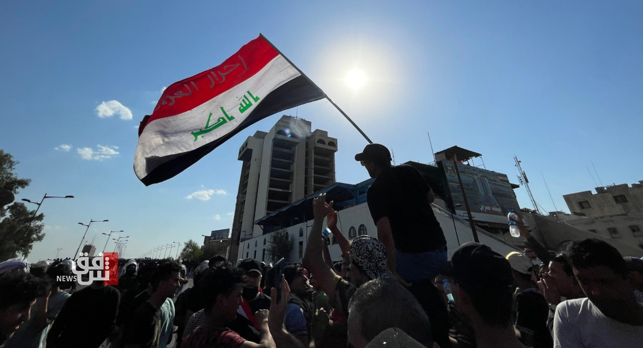 """""""Who Killed me?"""" demonstrations take over al-Tahrir and al-Nisour squares in Baghdad"""