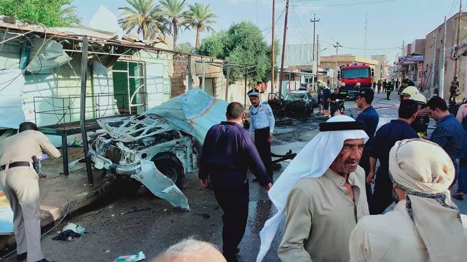 انفجار سيارة مفخخة في قضاء حديثة غربي الانبار