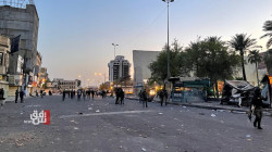 القوات الأمنية تفرق المتظاهرين وتفرض سيطرتها على ساحة التحرير