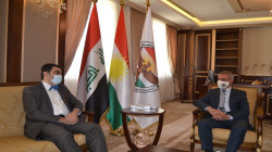 الشيخ مصطفى يبحث مع القنصل اليوناني الاوضاع في كوردستان والعراق