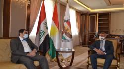 Sayed Qadir meets the Greek Consul General in Erbil