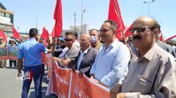 تظاهرتان في ديالى وكركوك لحشد الدفاع وأنصار الحزب الشيوعي وقطع طريق رئيسي