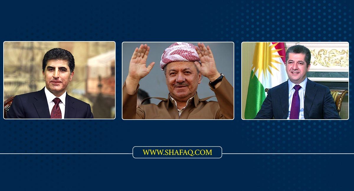 Kurdistan leaders commemorate the 45th anniversary of the Gulan revolution