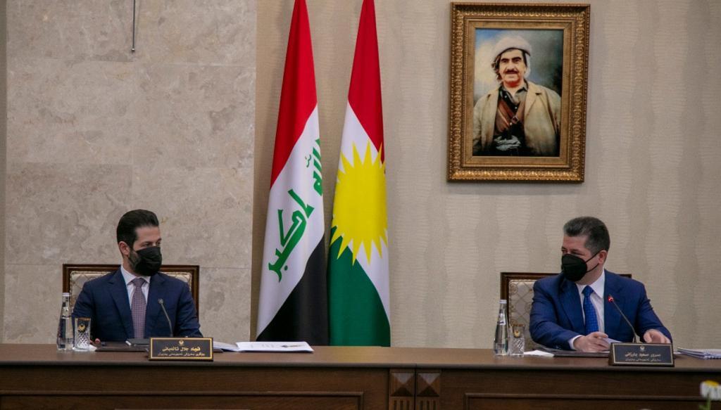 حكومة إقليم كوردستان تصوّت على قرار إعادة تنظيم الواردات العامة ومشروعي قانونيين