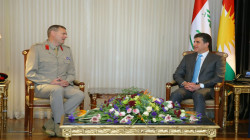 Kurdistan's President expresses readiness to continue joint work with the Global Coalition