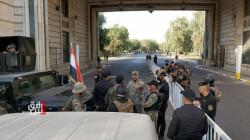 """بغداد.. استمرار غلق """"المنطقة المحصنة"""" مع انتشار أمني كثيف"""
