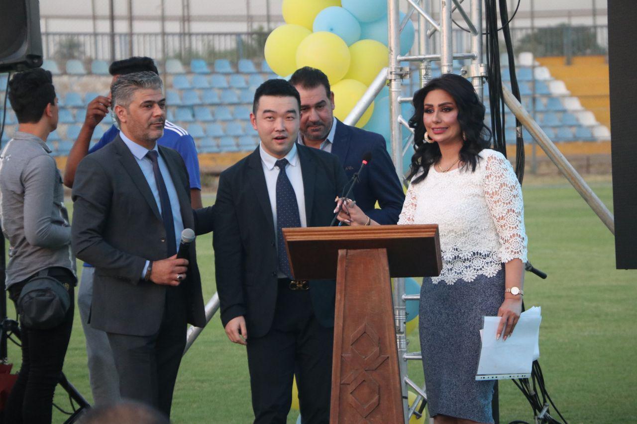 """تهديم وإعادة بناء مقر الصقور في بغداد.. وملعب """"علي حسين"""" بديلاً"""