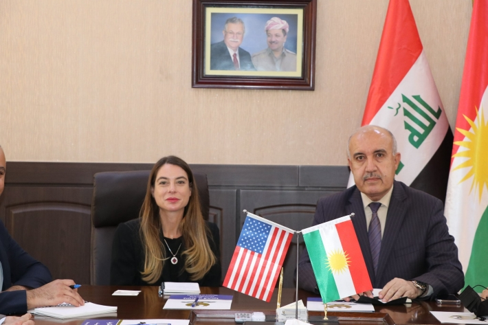 US show willingness to implement power projects in Kurdistan