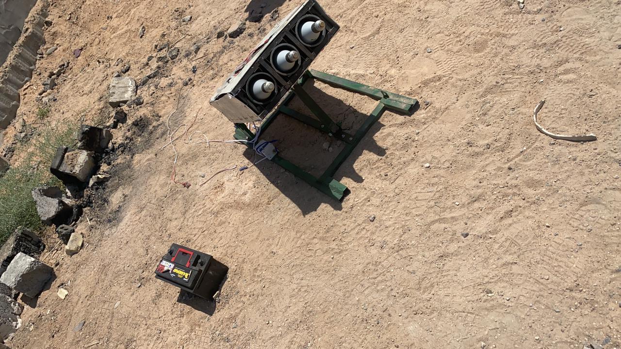 تفكيك منصة صواريخ معدة لإستهداف مناطق في بغداد (صور)