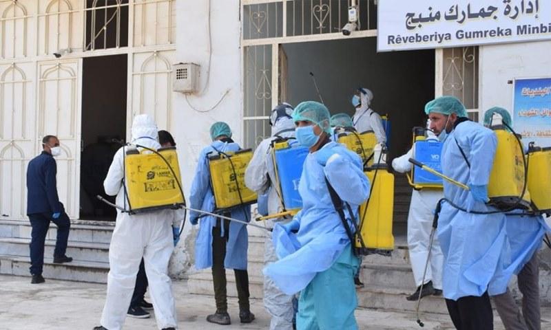 3 وفيات  و30 إصابة جديدة بفيروس كوفيد 19 في شمال وشرق سوريا
