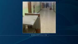 صلاح الدين.. اعتقال 4 أشخاص حطموا أثاث مستشفى بسبب وفاة مريضهم (صور)