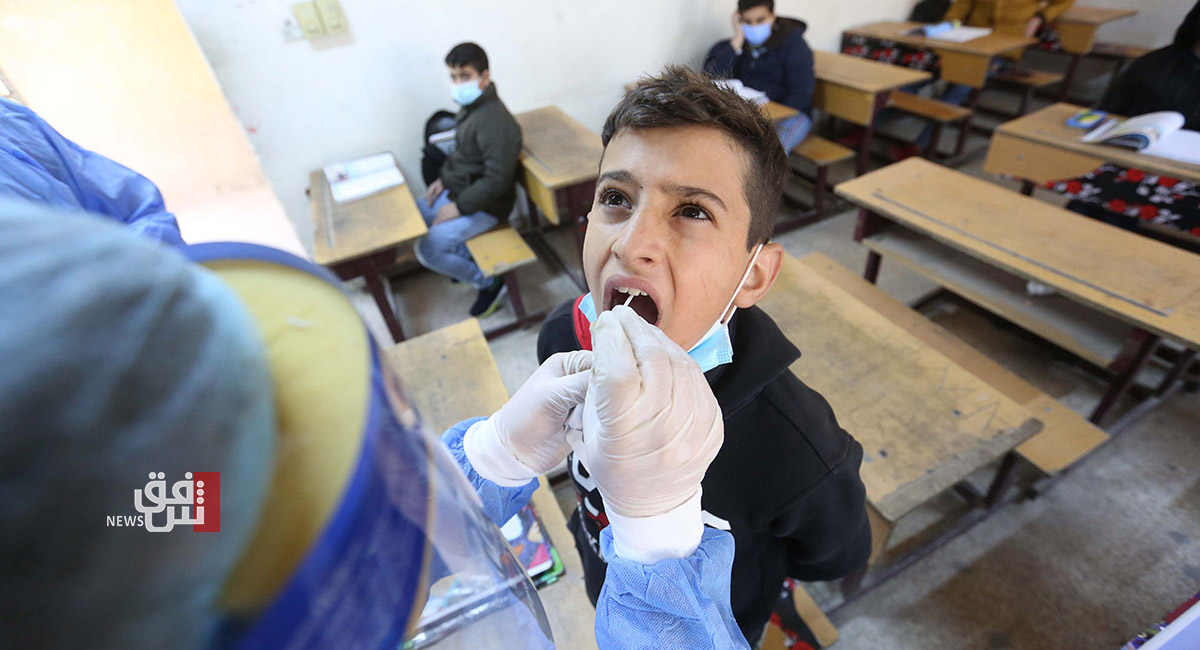 Covid-19: about 550 new cases in Kurdistan today