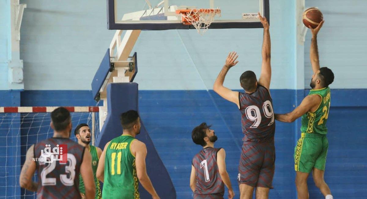 أربع مواجهات في دوري السلة للدرجة الاولى والحلة يتوج أولا في بطولة الناشئين