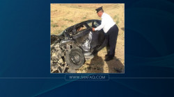 وفاة وإصابة 6 اشخاص في حادث مروري بمحافظة نينوى