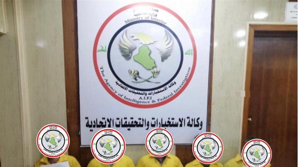 the Iraqi Intelligence Service arrests more than ten terrorists in Nineveh
