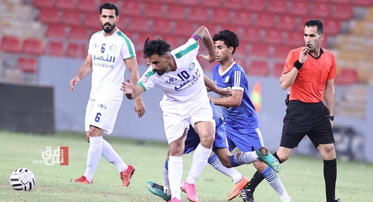 دوري الدرجة الاولى العراقي.. خمسة انتصارات وثلاثة تعادلات