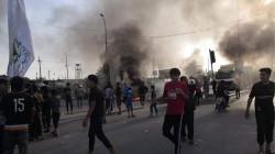 إعتقال أشخاص يقطعون الطرق بالإطارات المحترقة جنوبي العراق