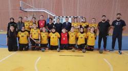 فريق اربيل النسوي لكرة اليد يحقق فوزاً بفارق 30 هدفاً بافتتاح الدوري الممتاز