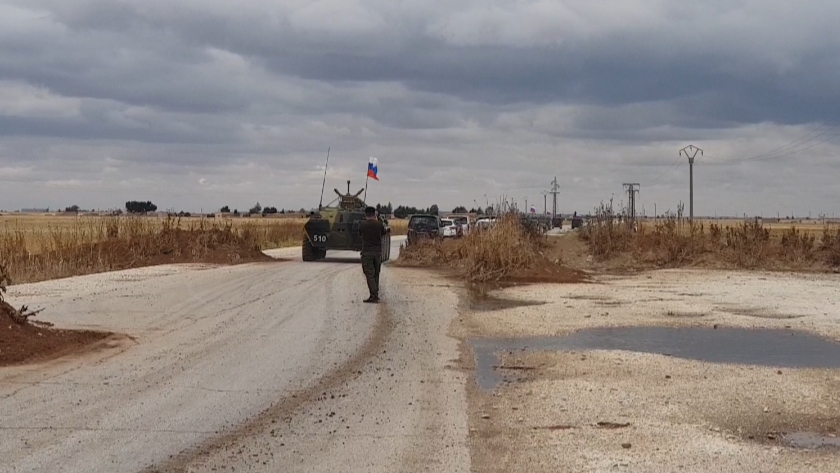 Russia and the United States send military reinforcements to their bases in Northeastern Syria