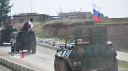 دورية روسية اعتيادية على حدود الادارة الذاتية وتركيا
