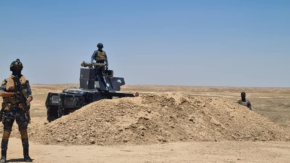 Security forces dismantle an ISIS cell in Kirkuk