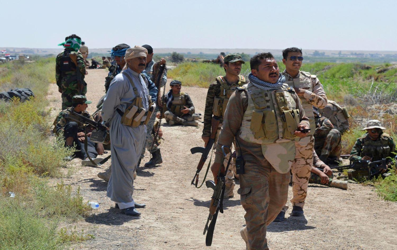 """هجوم لداعش و """"قنص"""" يسفر عن إصابة عنصر بالحشد ومدنيين اثنين شمال بغداد"""