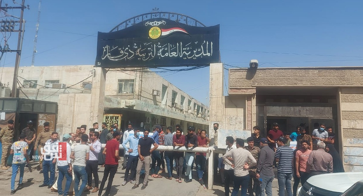 Protests in Dhi Qar continue, blocking roads and Government's headquarters