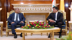 A delegation from the Sadrist movement meets with Kurdistan leaders