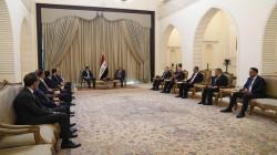 رئيس الجمهورية يؤكد على حسم المسائل المالية بين بغداد وأربيل