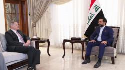 الحلبوسي والسفير الأمريكي يبحثان جملة ملفات أبرزها الانتخابات العراقية