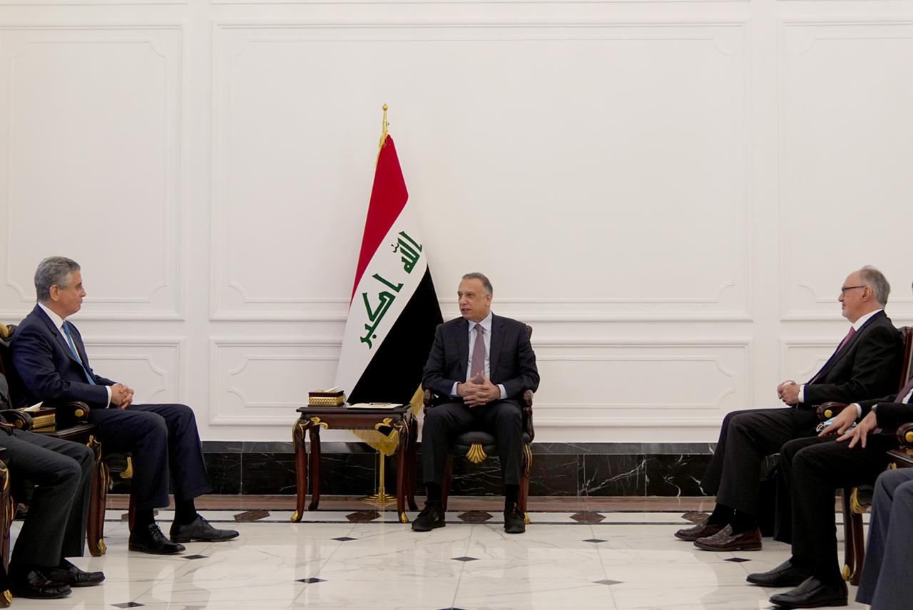 Iraq's PM and MENA's WB Vice President discuss the cabinet's long-term reform plan