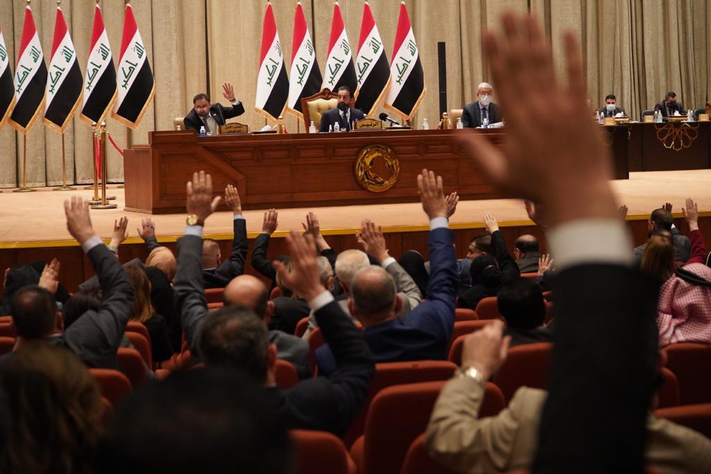 The Iraqi parliament postpones its session until further notice